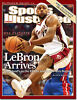 June 11, 2007 Lebron James Cleveland Cavaliers Sports Illustrated