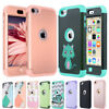 for Apple iPod Touch 7th 5th 6th Generation Hybrid Protective Silicon Case Cover