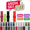 Nylon Silicone Strap Band for Apple Watch Sports Series 5/4/3/2/1 38/40/42/44mm