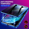 360° Full Anti-Spy Glass Magnetic Case For iPhone 11 12 Pro Max XS X XR 8 7 Plus