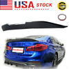 For 2017-2021 BMW 5-Series G30 G38 PSM-Type Carbon Fiber Look Rear Trunk Spoiler