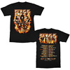 KISS End Of The Road World Tour 2021 Rock Music GILDAN BLACK Shirt