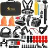 65IN1 Action Camera Accessories Kit for GoPro HERO9, GoPro Max, Hero 8 7 6 5 4