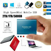 USB 3.1 High Speed Solid State Mobile External SSD Hard Drive Disk 500GB 1TB 2TB