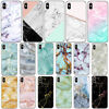 Retro Marble Pattern Soft TPU Phone Case Cover For iPhone XS Max XR X 8 7 6 5
