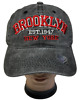 BROOKLYN NEW YORK Cotton Denim Washed Polo Style Adjustable Baseball Cap Hat LOT