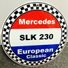 Mercedes SLK230 SLK 230 sign