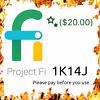 Project Fi, Google Fi, Pixil 4 Code - Save $20-$23 - 1K14JJ