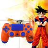 Dragon Ball PS4 Slim Pro Controller Shell Case DIY Full Custom Housing Mod Kit