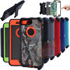 For iPhone 7/7 Plus Defender Case Rugged Shockproof (With Clip fits Otterbox)