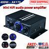 400W Power Digital Amplifier HIFI Mini Stereo Audio AMP USB FM Mic Car Home - US