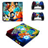 PS4 Slim S Dragon Ball Z Goku Vegeta Vinyl Skin Decals Stickers Console Control