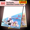 Water Slide Decals - WaterSlide Transfer Paper - LASER A4 - Clear or White Lot