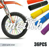 36pcs Universal Dirt Bike Wheel Spoke Wraps Rims Skins Covers Guard Protector