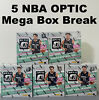 BROOKLYN NETS PANINI 2020-2021 NBA OPTIC 5 MEGA BOX Break #252