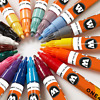 Molotow ONE4ALL 127HS 2MM Single Acrylic paint markers graffiti art supplies