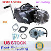 New Manual Clutch 125CC Motorbike Engine 1P52FMI 4Up Gears Dirt Bike Motor CRF50