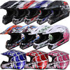 DOT Adult Kids Child Youth Motocross ATV Dirt Bike MX Off Road Helmet S M L XL