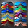 RawD Polarized Replacement Lenses for-Oakley Radar Pitch Sunglasses Options