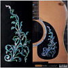Acoustic Guitar Body Inlay Sticker Decals Fit Epiphone,Martin,Alvarez.Rogue,Cort