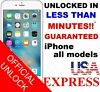 Premium FACTORY UNLOCK SERVICE AT&T CODE ATT for IPhone 3 4 5 5S 6 6s SE 7 8 8+
