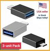 3-Pack USB-C 3.1 Male to USB A Female Adapter Converter OTG Type C Android Phone