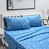 4 Pcs Bedsheet Set Extra Deep Pocket Egyptian Comfort Soft Queen King Bed Sheets