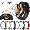For Samsung Galaxy Watch 4 40mm 44mm TPU Glass Full Screen Protector Case Cover