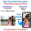 Customized Personal Picture Phone Case Cover Fits iPod 5th Gen