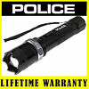 POLICE Stun Gun T11 550 BV Heavy Duty Metal Rechargeable LED Flashlight