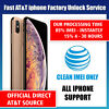 FACTORY UNLOCK SERVICE AT&T CODE ATT for IPhone 5 5S 6 6s  7 8 X XS 11 SE 12