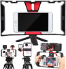 Cell Phone Stabilizer Rig Video Camera Cage Film Making for iPhone Samsung 4-7