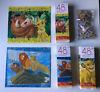 Lion King ~ 3 Cardinal Jigsaw Puzzles ~ 48 pieces/Puzzle ~ USED Simba Nala Timon