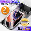 HYDROGEL Screen Protector Samsung Note Galaxy S20 Ultra S10 S9 S8 Plus + 2 Pack