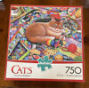 BUFFALO GAMES Cat Themed 750 PIECE JIGSAW PUZZLE