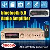 5000W bluetooth Home Stereo Power Amplifier 2 Channel Receiver Amp Hi-Fi FM SD