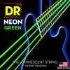 DR Strings K3 NEON Hi-Def GREEN Electric BASS NGB6-30 30-125 Six String Set