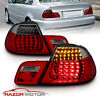2000-2003 Red Smoke LED Tail Light Pair (Set) for BMW E46 325Ci/330Ci/M3 Coupe