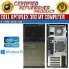 Dell OptiPlex 390 MT Intel i3 4GB RAM 250GB HDD Win 10 HDMI USB B Grade Desktop