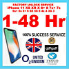 EXPRESS FAST UNLOCK O2 Tesco iPhone  X 8+ 8 7+ 7 6s+ 6s 6+ 6 5se 5s 5 5c