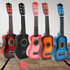 21'' Kids Toy Guitar Childrens Acoustic Prop Musical String Practice Gift Toy US