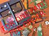 -FOR ONE PART- OEM Nintendo New 3DS XL 2015 Replacement Parts -READ DESC.-