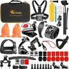 65-in-1 Camera Accessories Kit for GoPro Max Hero 8 Black Hero 7 Black 6 5 4 3