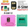 Newest RSIM14/12+2019 R-SIM Nano Unlock Card Fit iPhone X/8/7/6/6s/5s/ 4G iOS12