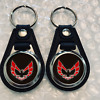 FIREBIRD KEYCHAIN SET 2 PACK RED & BLACK