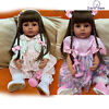 Realistic Reborn Twins Baby 22'' Full Body Toddler Silicone Reborn Twins Dolls