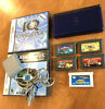 Cobalt Blue Nintendo DS lite + 7 Games, GBA, With Charger, All Tested, & Working