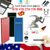 Hard Disk Drive 1/2/4/6/8 TB External HDD SSD Type-C USB 3.1 Mobile Solid State