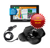 Garmin 50LMTHD DriveSmart GPS Sandbag + Free N. American Maps Fully Updated