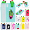 For iPhone XS/XS Max/XR Cute 3D Cartoon Soft Rubber Case Shockproof Phone Cover
